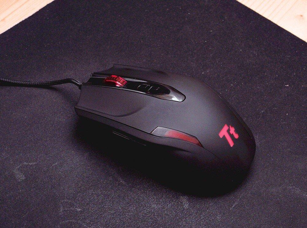 обзор мыши ThermalTake Tt eSPORTS BLACK 4000