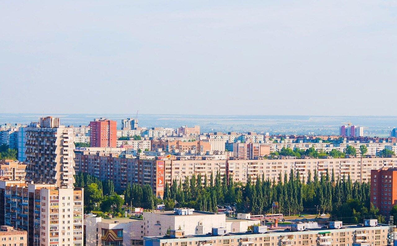 Самара, сквер на проспекте Ленина