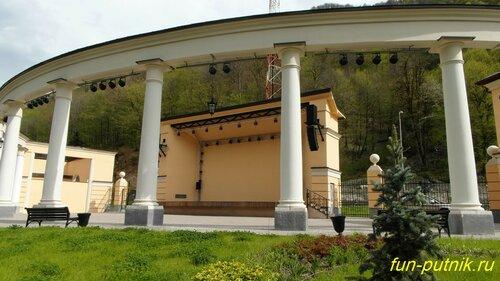 Тематический парк Моя Россия, Роза Хутор