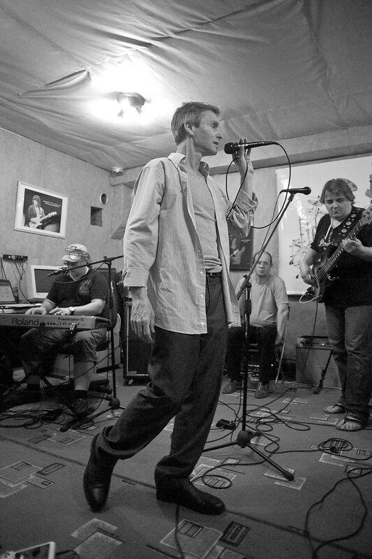 портрет неизвестного музыканта. фотограф Кузьмин