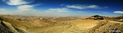 Панорама долины Арава' со стороны Иордании