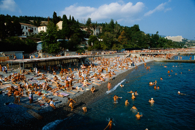 Black Sea Beach in Yalta