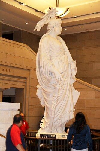 статуя свободы, сша, капитолий