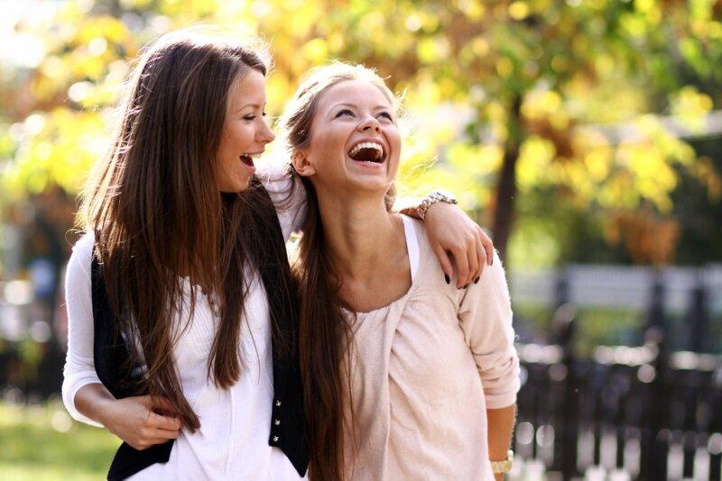 девушки с подружками фото
