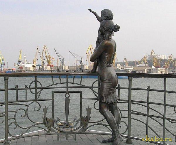 Памятник жене моряка (Одесса)