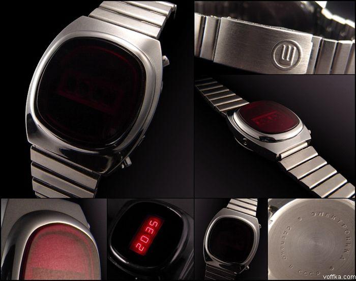 Электронные советские часы