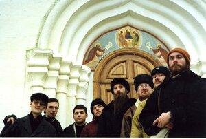 Хор п/у Андрея Орлова у стен Троицкого собора
