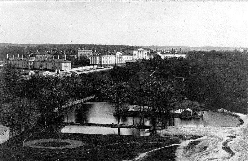 Лефортово. Военная гофшпиталь. Фото 1888 года.