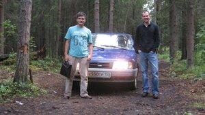 В лесу близ Ужесельги