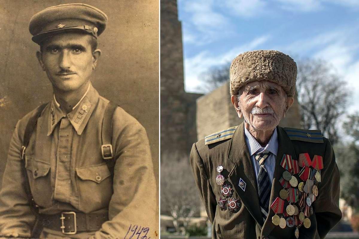 15 героев Великой Отечественной Войны из 15 республик Советского Союза - Аллахверди Алиев, уроженец Азербайджана, 102 года