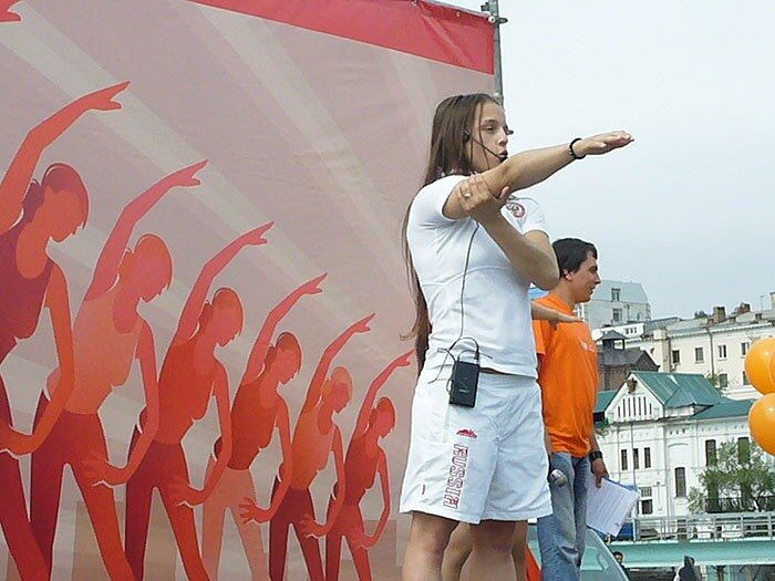 Зарядка во Владивостоке