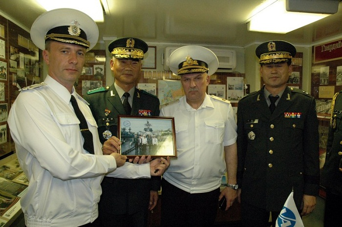 Военная делегация Республики Корея посетила Владивосток