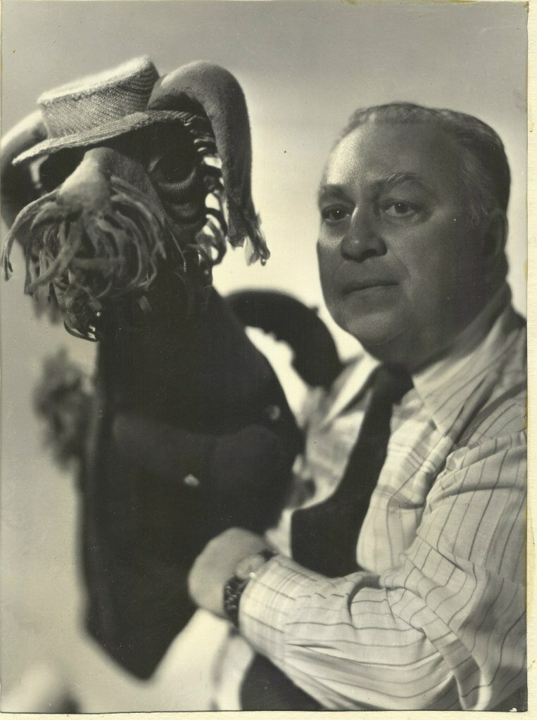 Борис Бахтенко, засл. артист РСФСР(1970) работал в театре кукол с 1946-1984