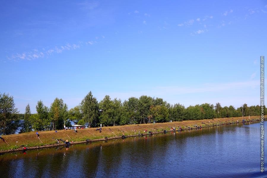 Платная рыбалка на канале