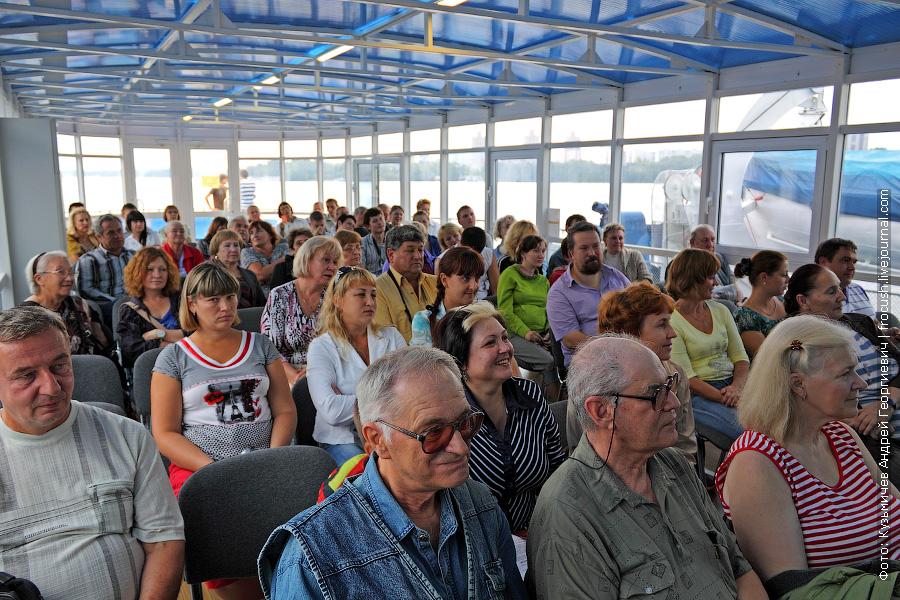 зрители розыгрыша призов круизной компании «Инфофлот»