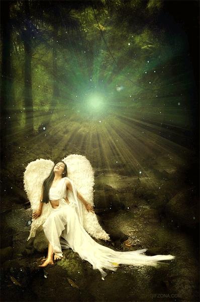 ангел анимация