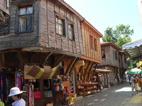 Старые домики Созополя