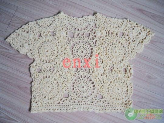 spring and summer crafts: lace bolero free crochet ...