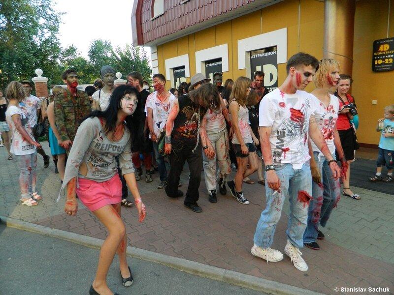 В Хабаровске запретили парад зомби. Мэрия Хабаровска запретила проведение