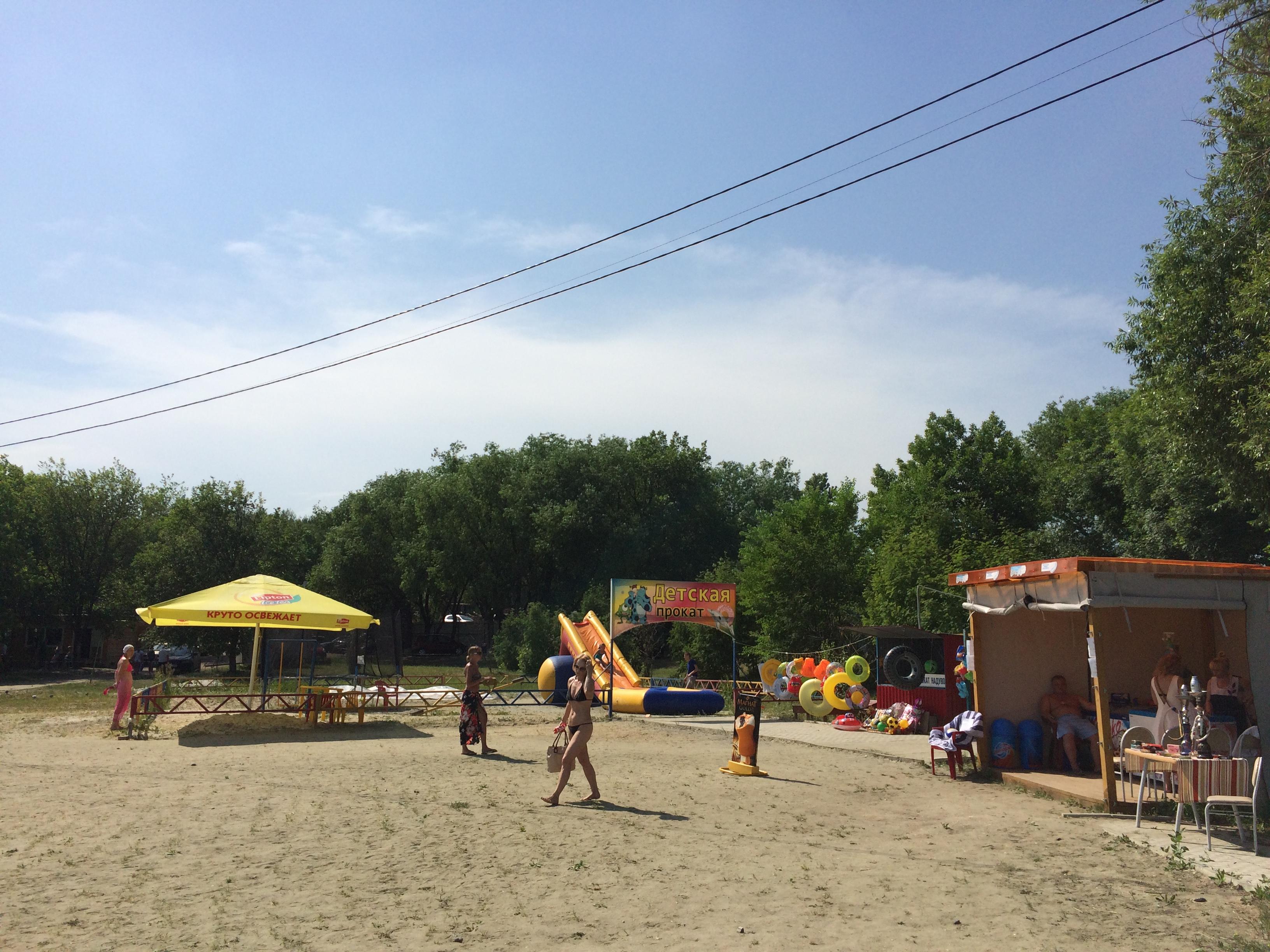 Пляж на Шершнях ″Белый парус″ (22.06.2015)