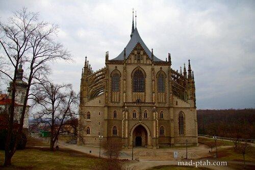 чехия, кутна гора, собор святой варвары