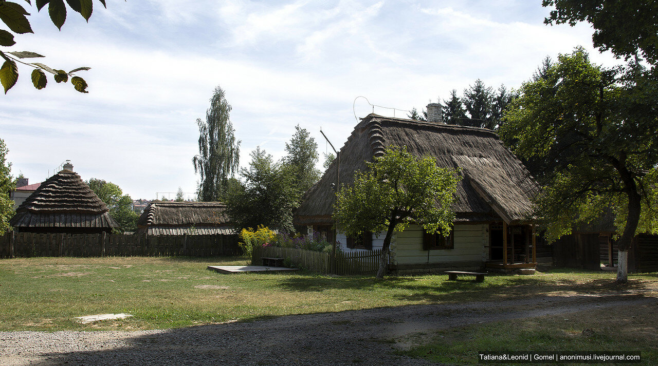 Музей Люблинской деревни. Польша