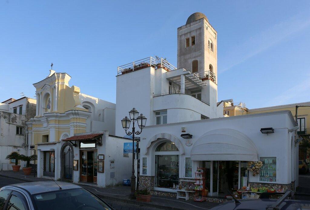 Ischia, Lacco Ameno. The Church of Santa Maria delle Grazie (Сhiesa di Santa Maria delle Grazie)