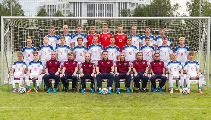 Юношеская сборная России 1998 года рождения.