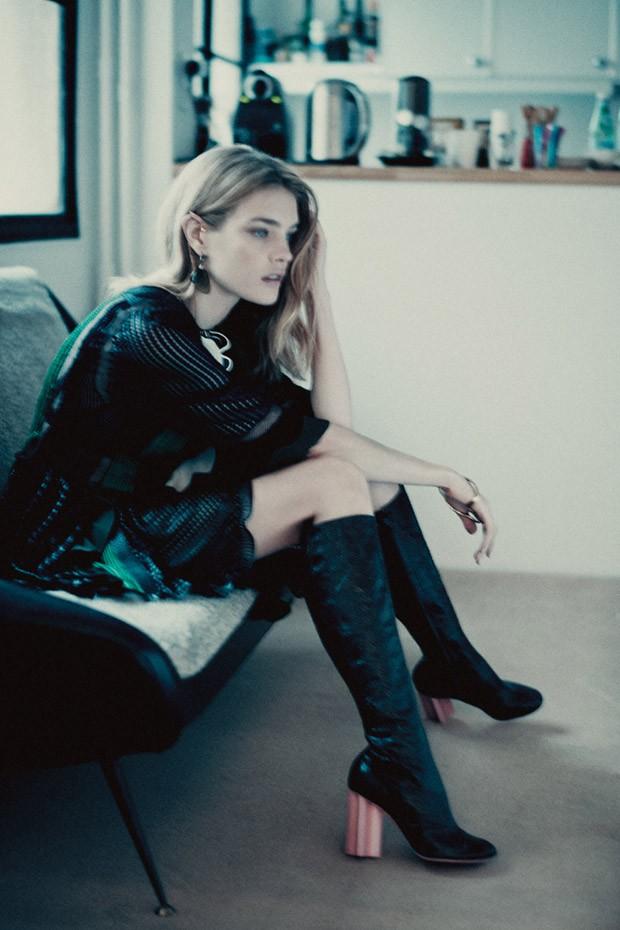 Наталья Водянова (Natalia Vodianova) в журнале Interview