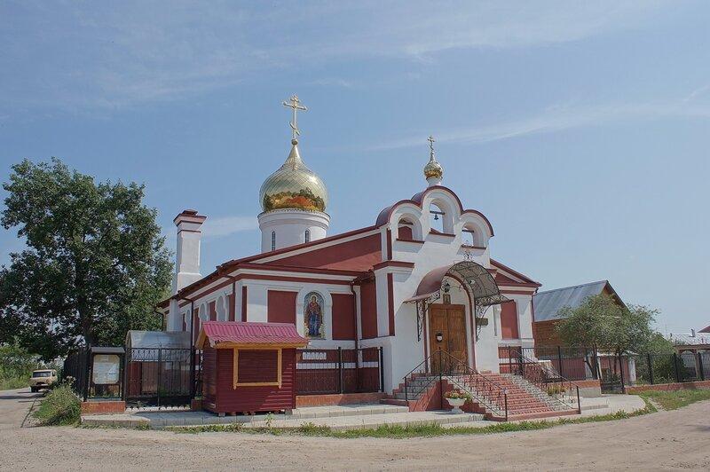 деревня Дровосеки. Храм великомученика Никиты