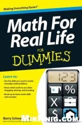 Книга Math For Real Life For Dummies