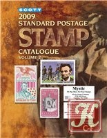 Книга Scott 2009 Standard Postage stamp catalogue. Vol. 2