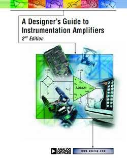 Книга A Designer's Guide to Instrumentation Amplifiers