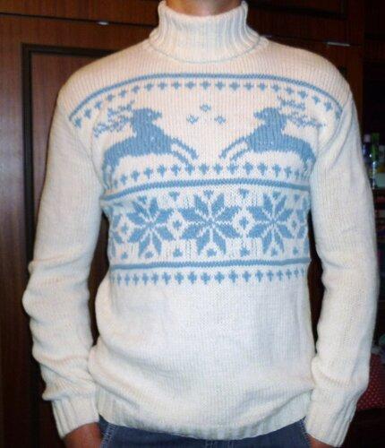 «свитер с оленями 84994094126»