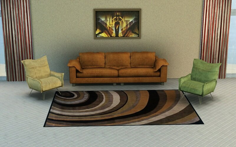 Quiet steps rugs(TS3) by ihelen