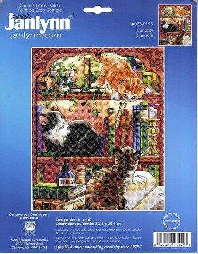 Кошки в библиотеке