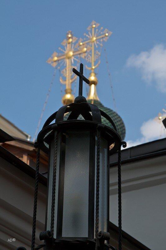 Кресты на Храме Софии Премудрости Божией в Средних Садовниках
