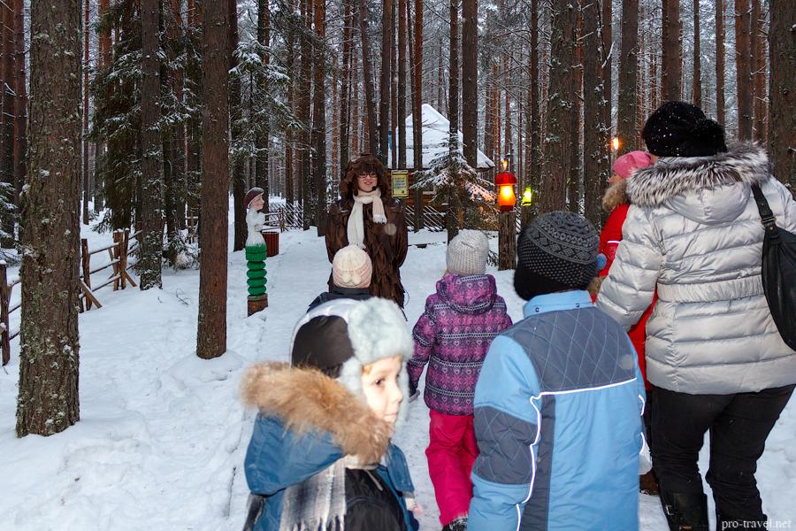 Тропа сказок на вотчине Деда Мороза