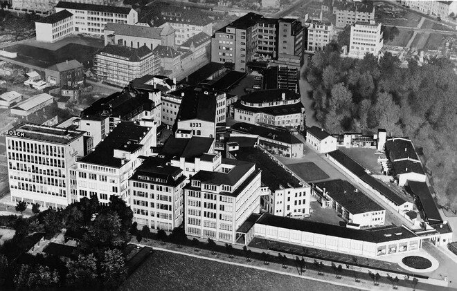 Завод Bosch в Штутгарте, 1952