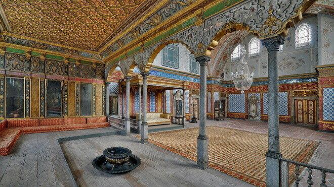 Дворец Топкапы. Стамбул, Турция