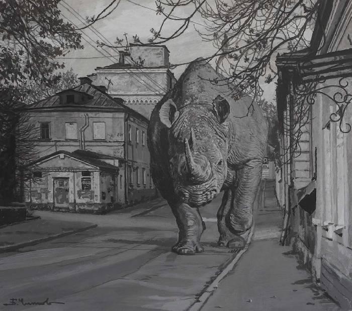 Борис Чижов. Рассерженный горожанин. 2012.