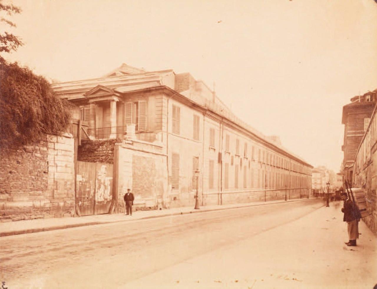 1898. Музей естественной истории на Рю Жоффруа Сент-Илер