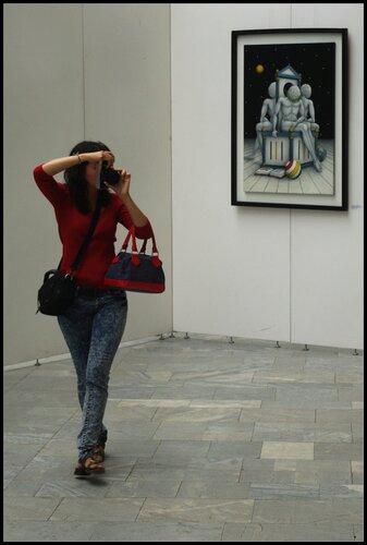 Манеж. Выставка Современное искусство Италии.
