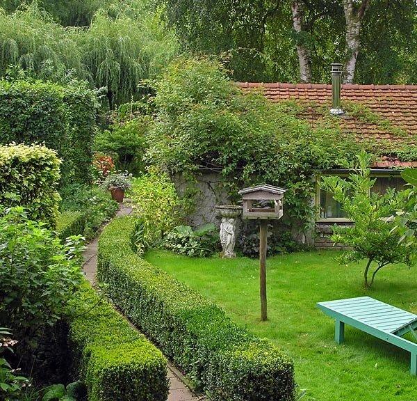 Фото дизайна садового участка своими руками