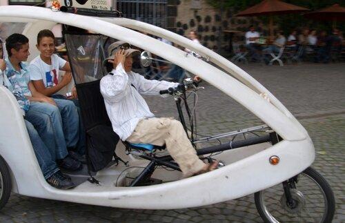 Кёльнский рикша.