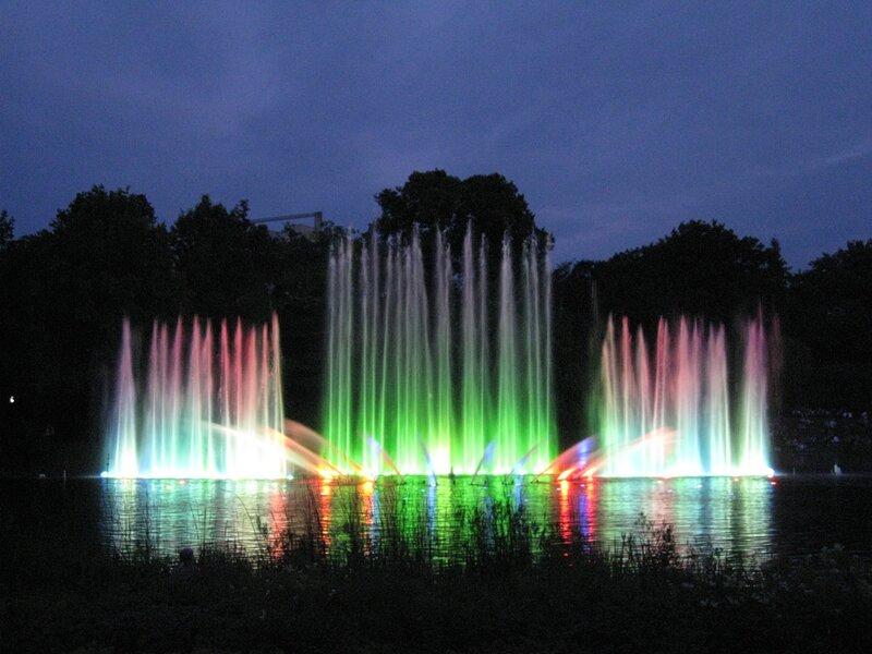 Танцующий фонтан / Парк Плантен ун Бломен
