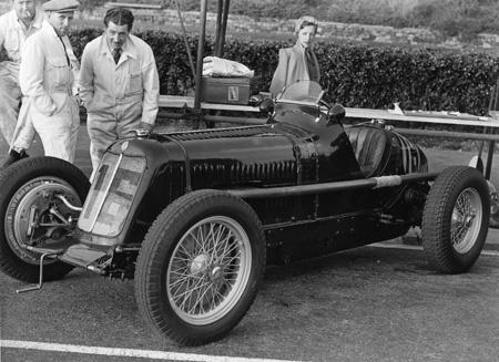 Roy Salvadori, Maserati 4CM, Jersey 1948