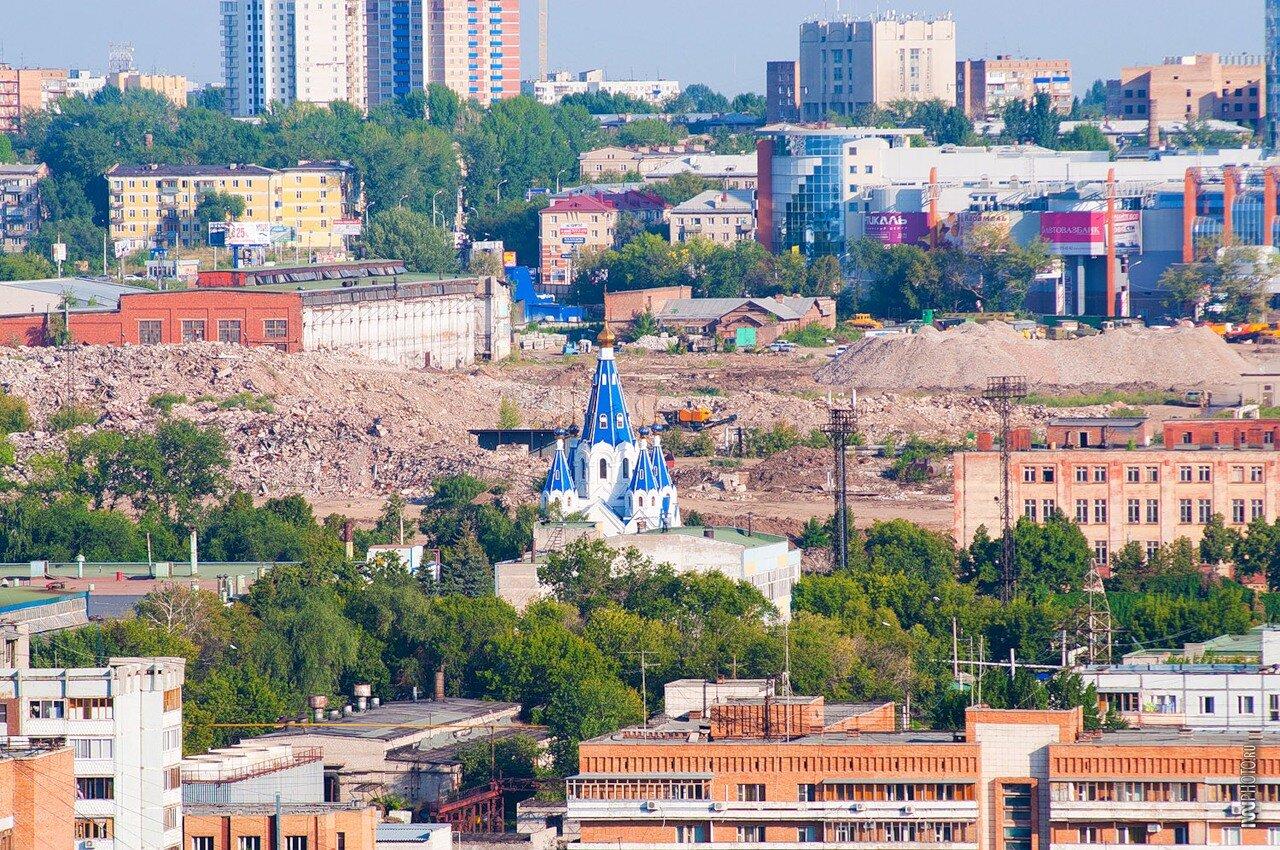 Самара, развалины завода по Масленникова