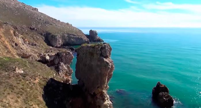 Заповедники Крыма - Опук и кояшское озеро