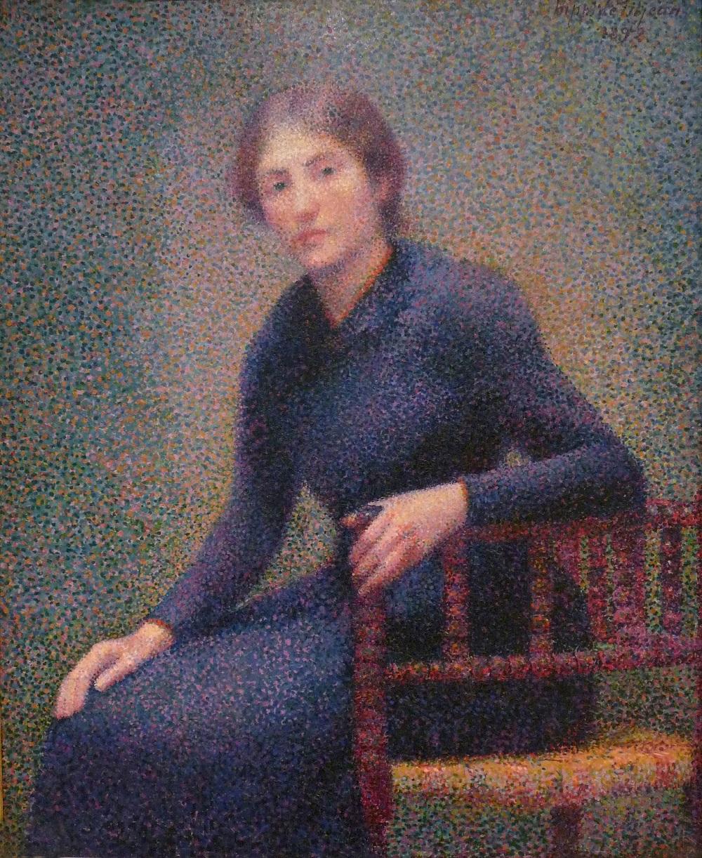 3 1892_Сидящая молодая женщина (предположительно, жена художника)_х.,м._Нанси, Музей изобразительных искусств.jpg